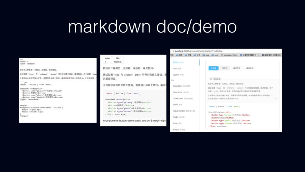 markdown doc/demo