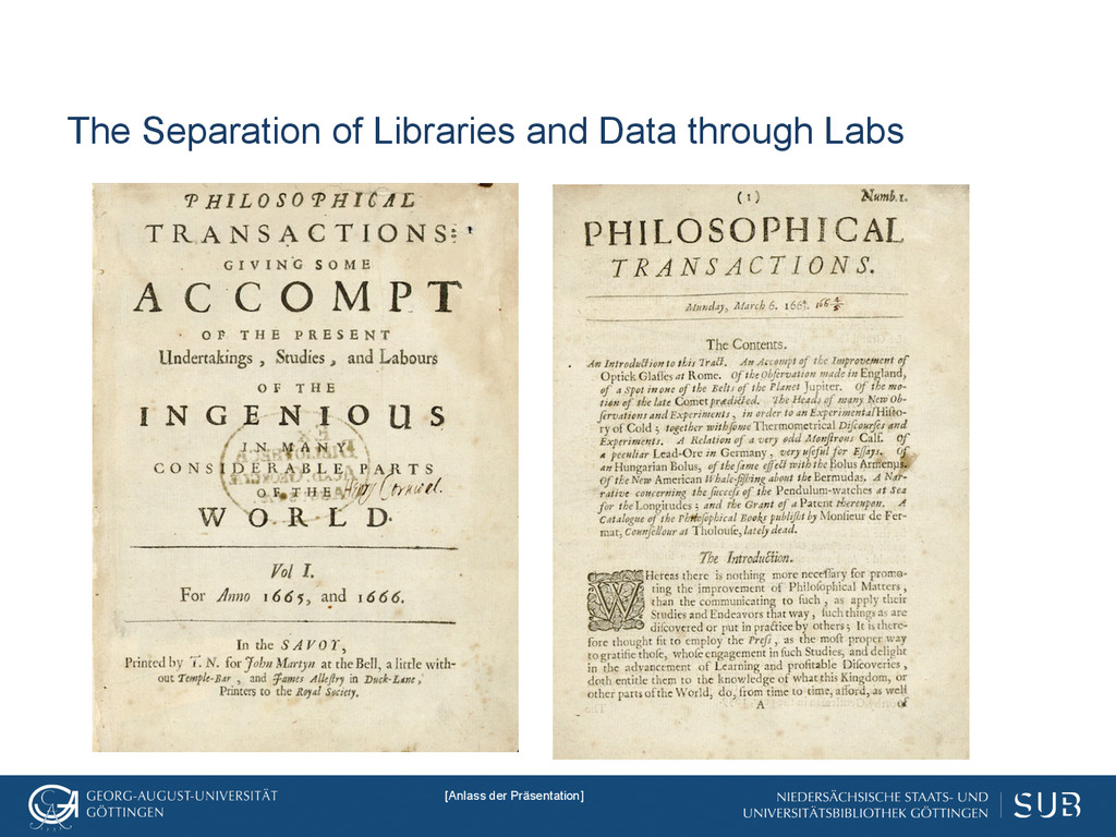 The Separation of Libraries and Data through La...