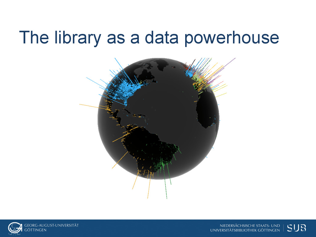 The library as a data powerhouse