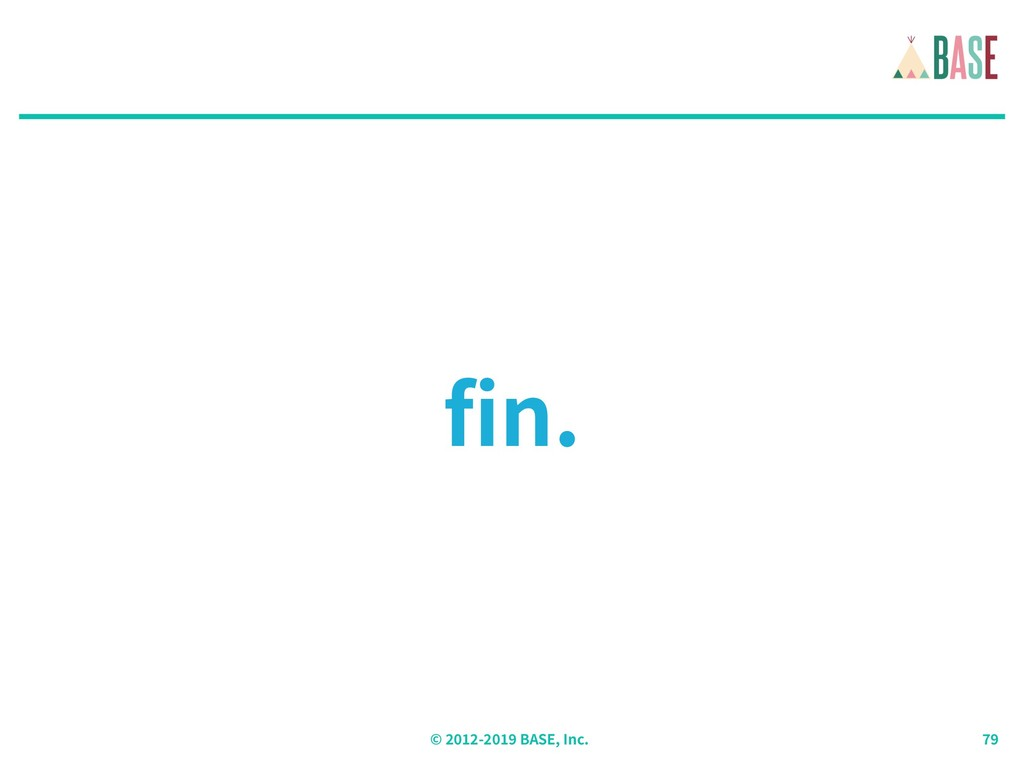 © - BASE, Inc. fin.