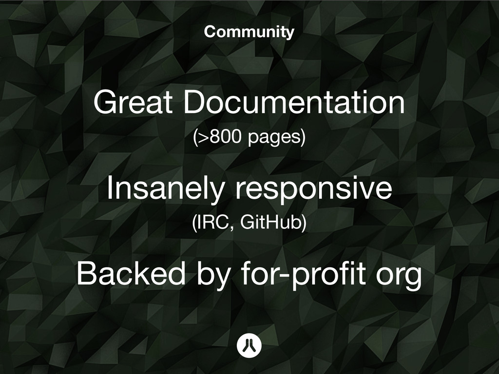 Community Great Documentation (>800 pages) ! In...