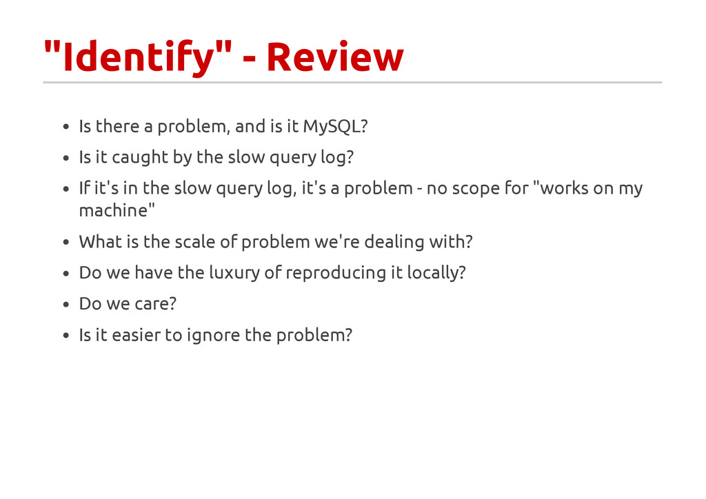 """""""Identify"""" - Review Is there a problem, and is ..."""
