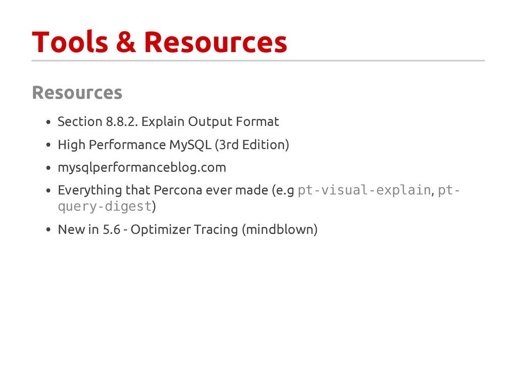 Tools & Resources Resources Section 8.8.2. Expl...