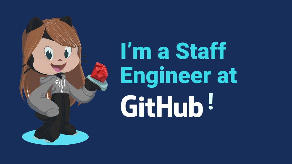 I'm a Staff Engineer at !