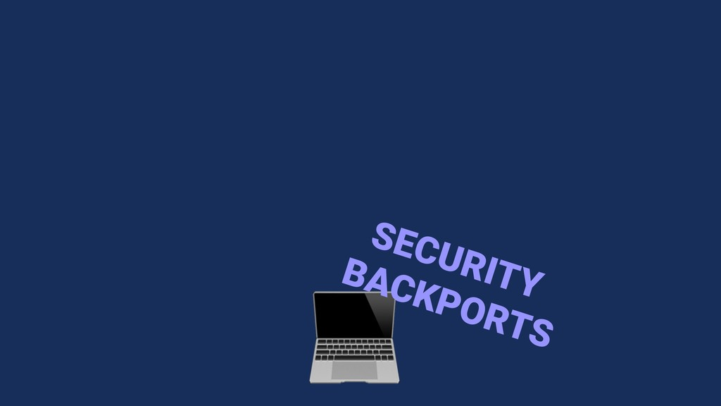 SECURITY BACKPORTS