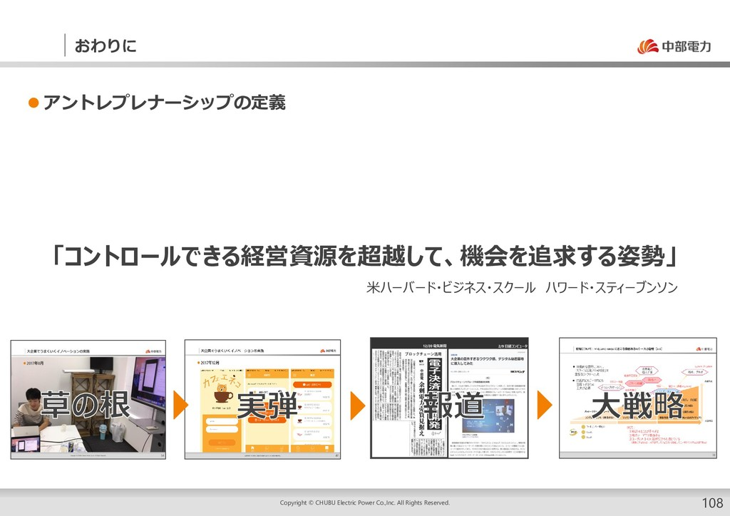 おわりに Copyright © CHUBU Electric Power Co.,Inc. ...