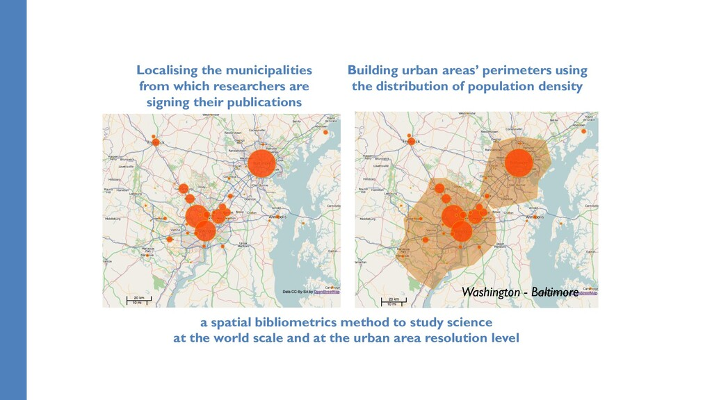 a spatial bibliometrics method to study science...