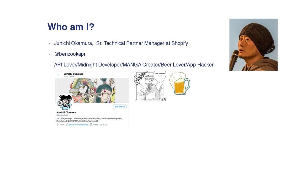 • Junichi Okamura, Sr. Technical Partner Manage...