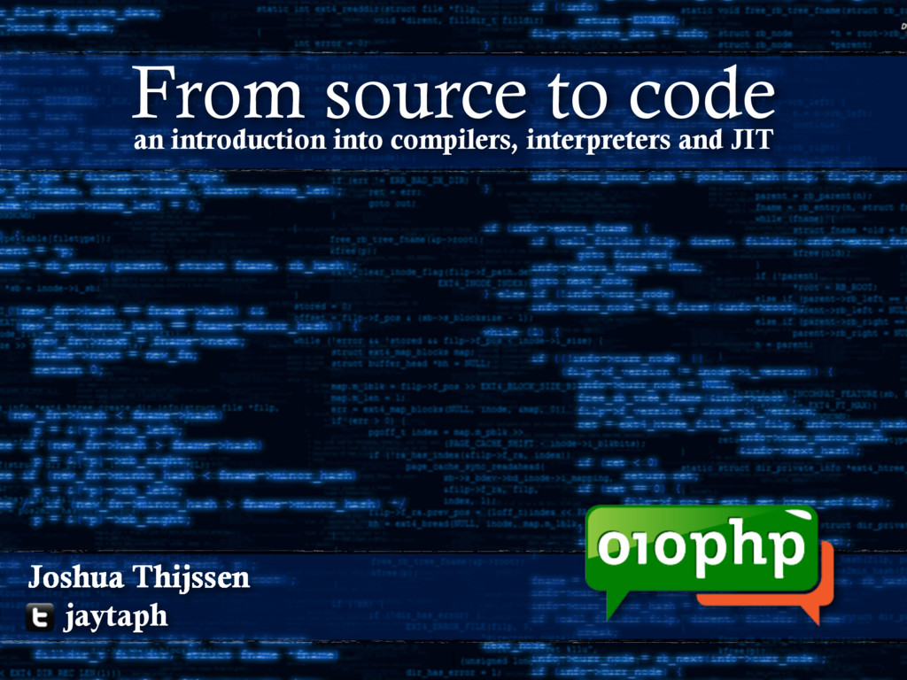 1 Joshua Thijssen jaytaph an introduction into ...