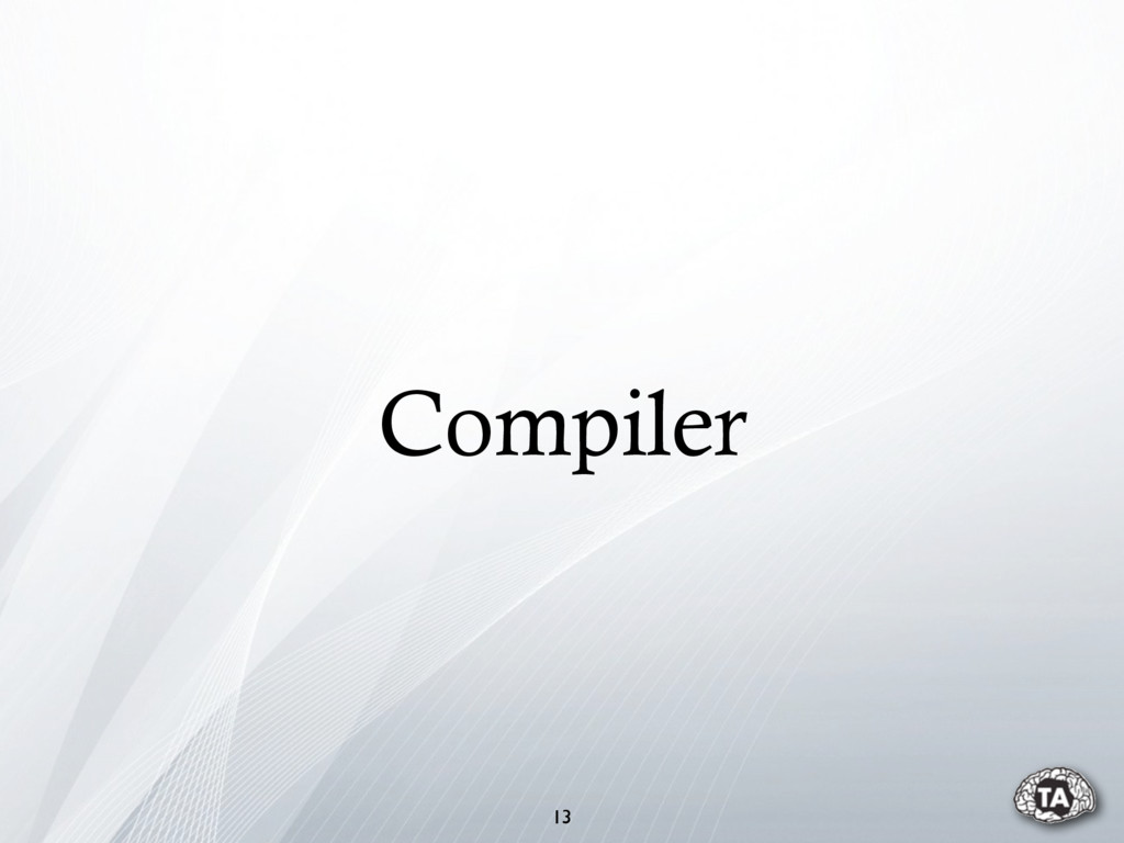Compiler 13
