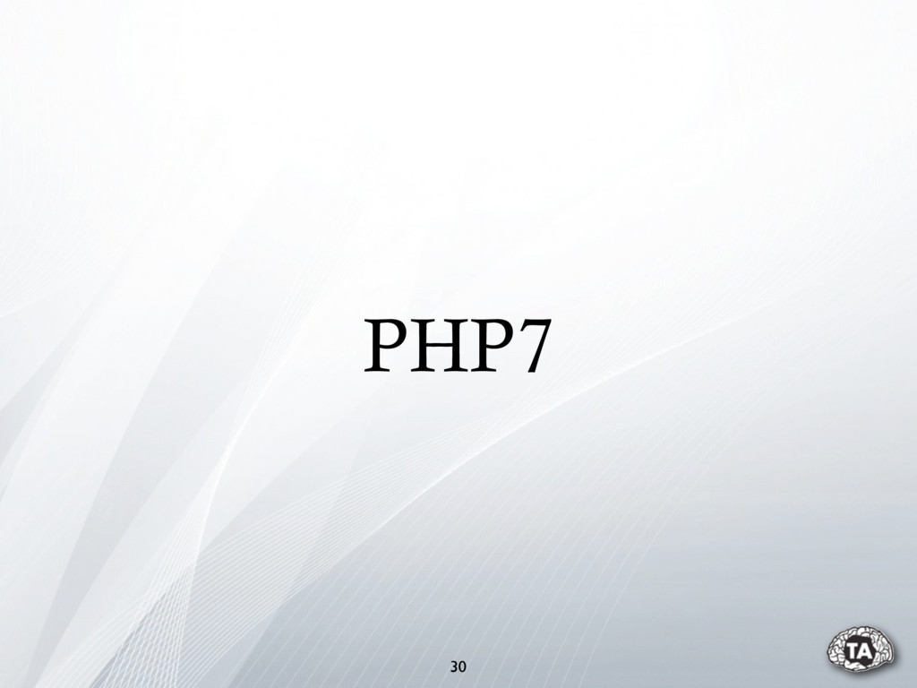 PHP7 30
