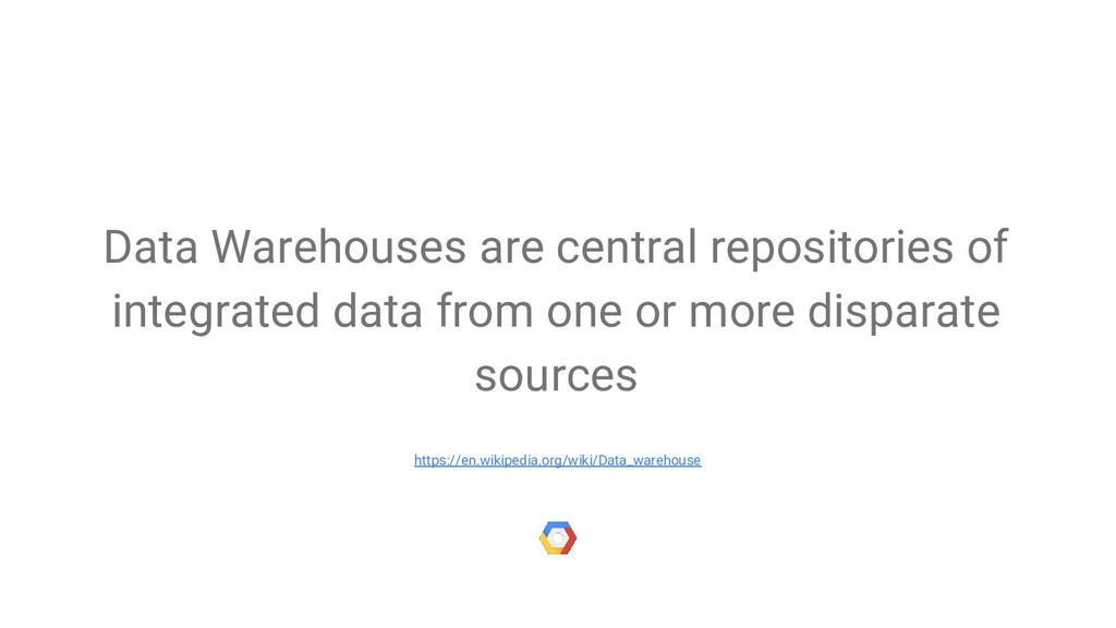 Data Warehouses are central repositories of int...