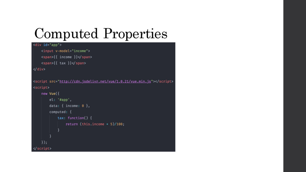 Computed Properties