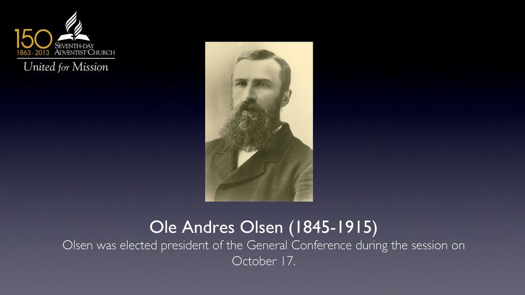 Ole Andres Olsen (1845-1915)