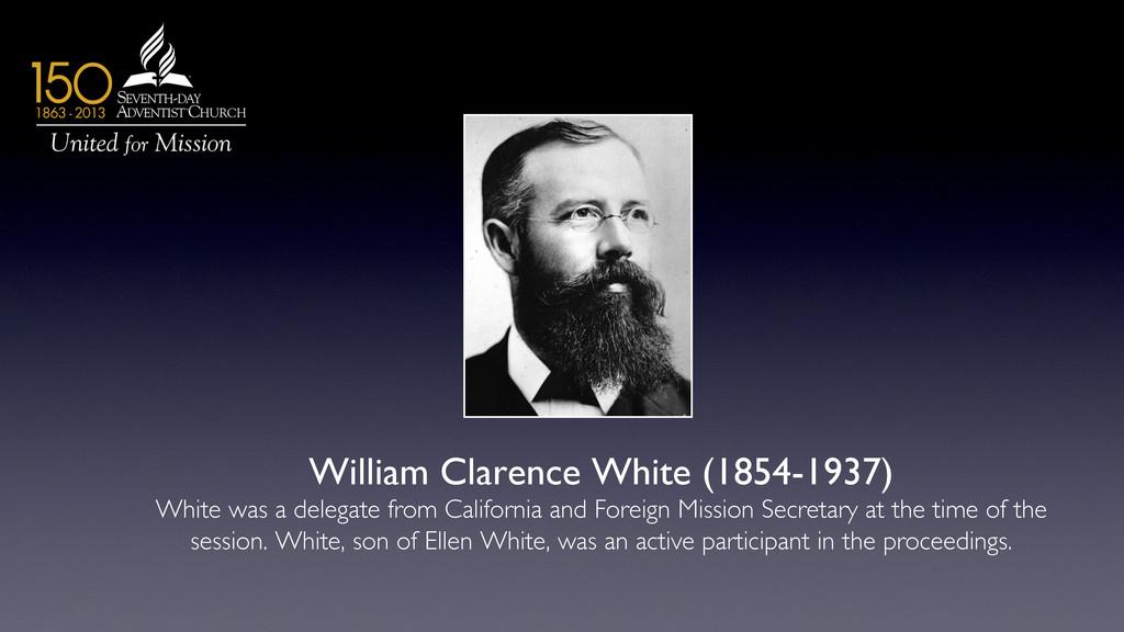 William Clarence White (1854-1937)