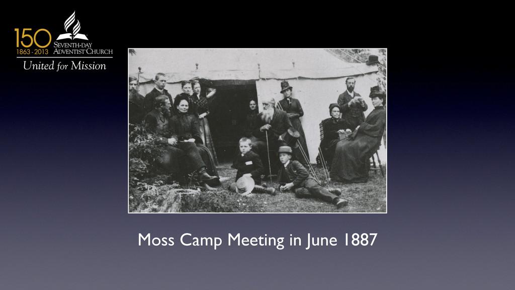 Moss Camp Meeting in June 1887