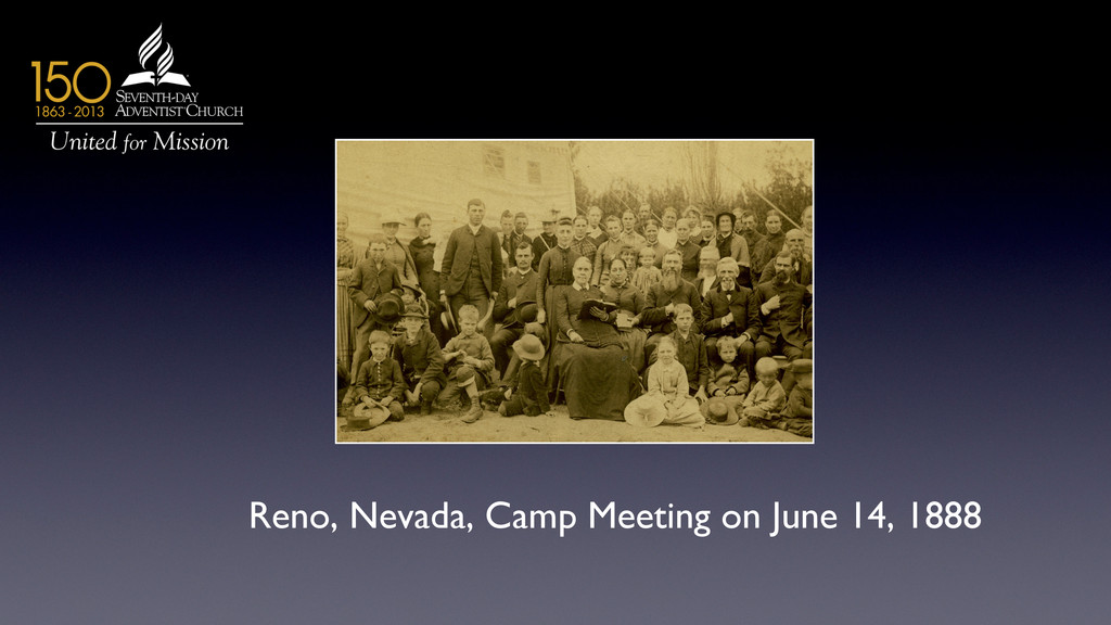Reno, Nevada, Camp Meeting on June 14, 1888