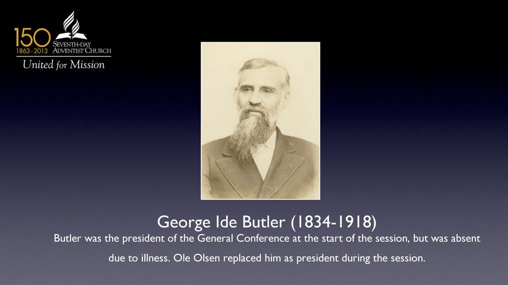 George Ide Butler (1834-1918)