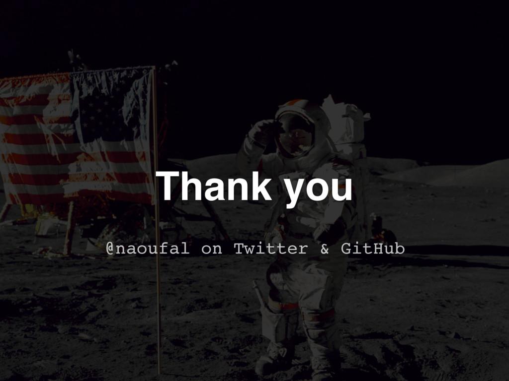Thank you @naoufal on Twitter & GitHub