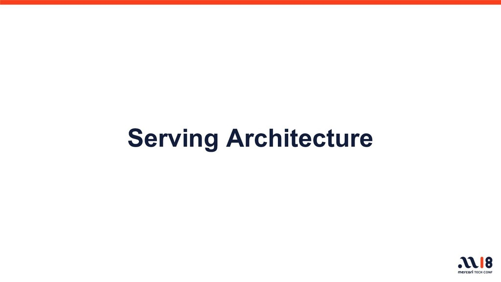 Serving Architecture