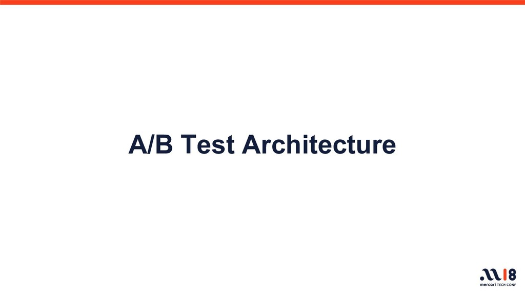 A/B Test Architecture
