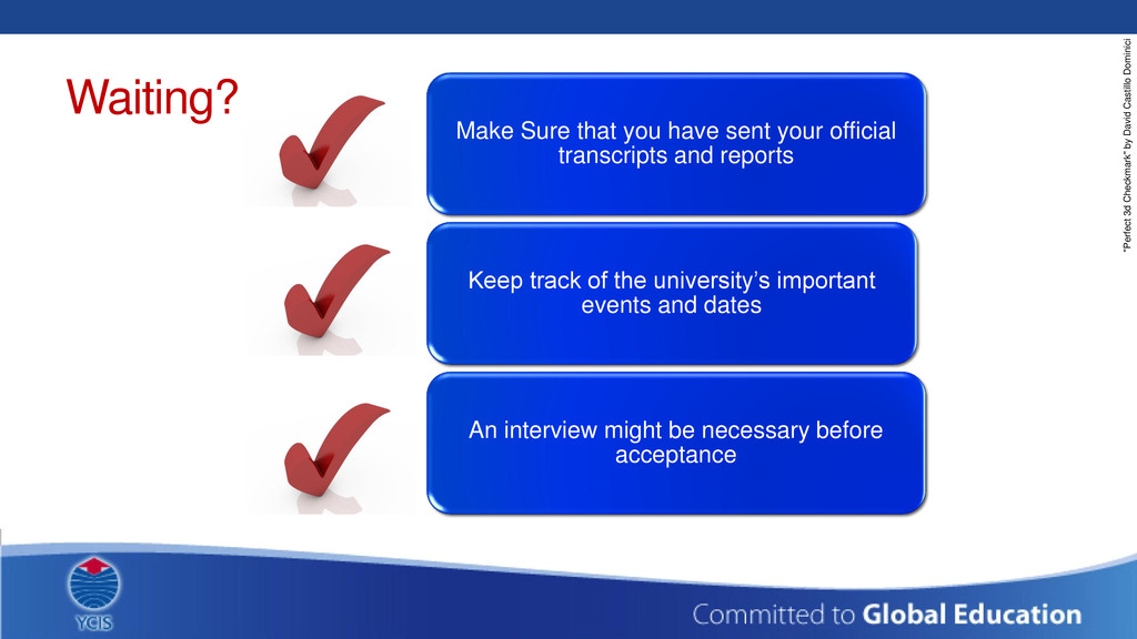 Waiting? Make Sure that you have sent your offi...