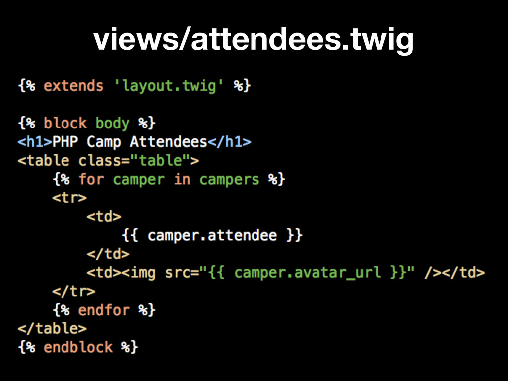 views/attendees.twig