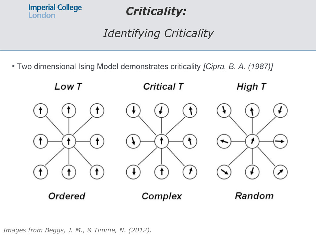 Criticality: Identifying Criticality Images fro...