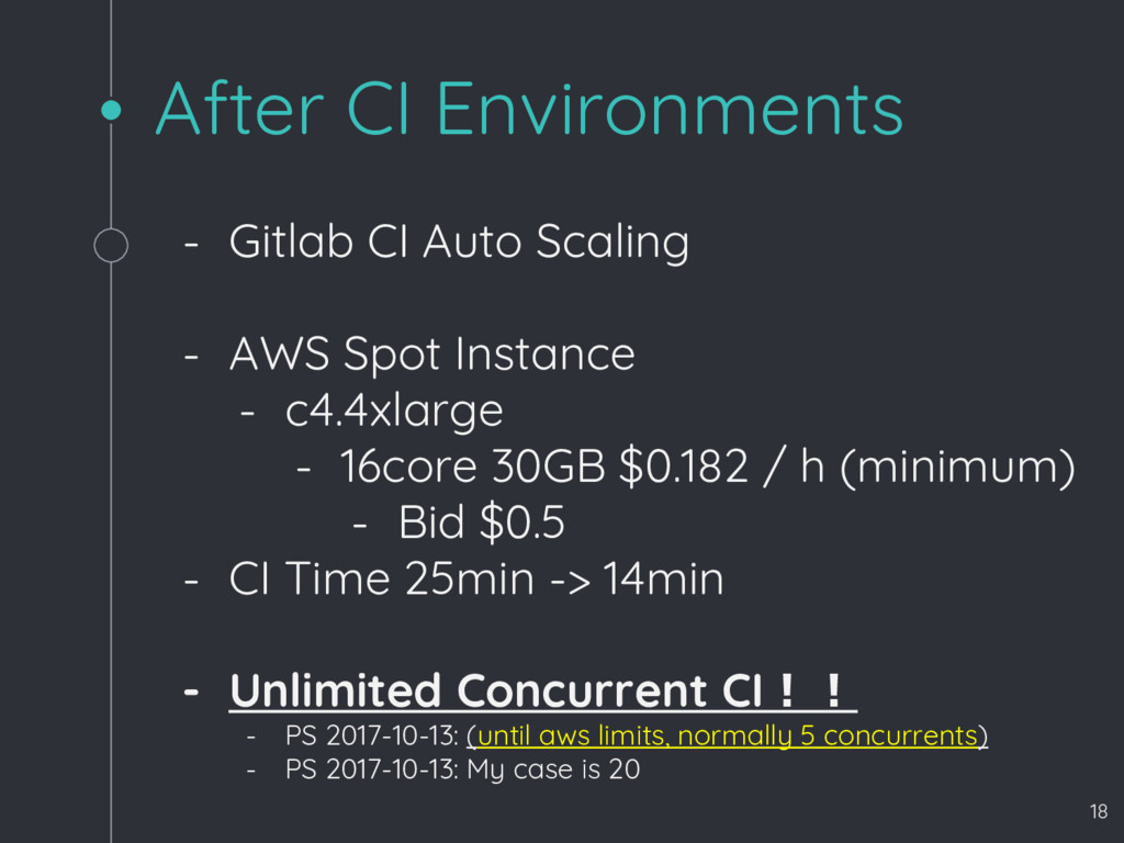 After CI Environments - Gitlab CI Auto Scaling ...