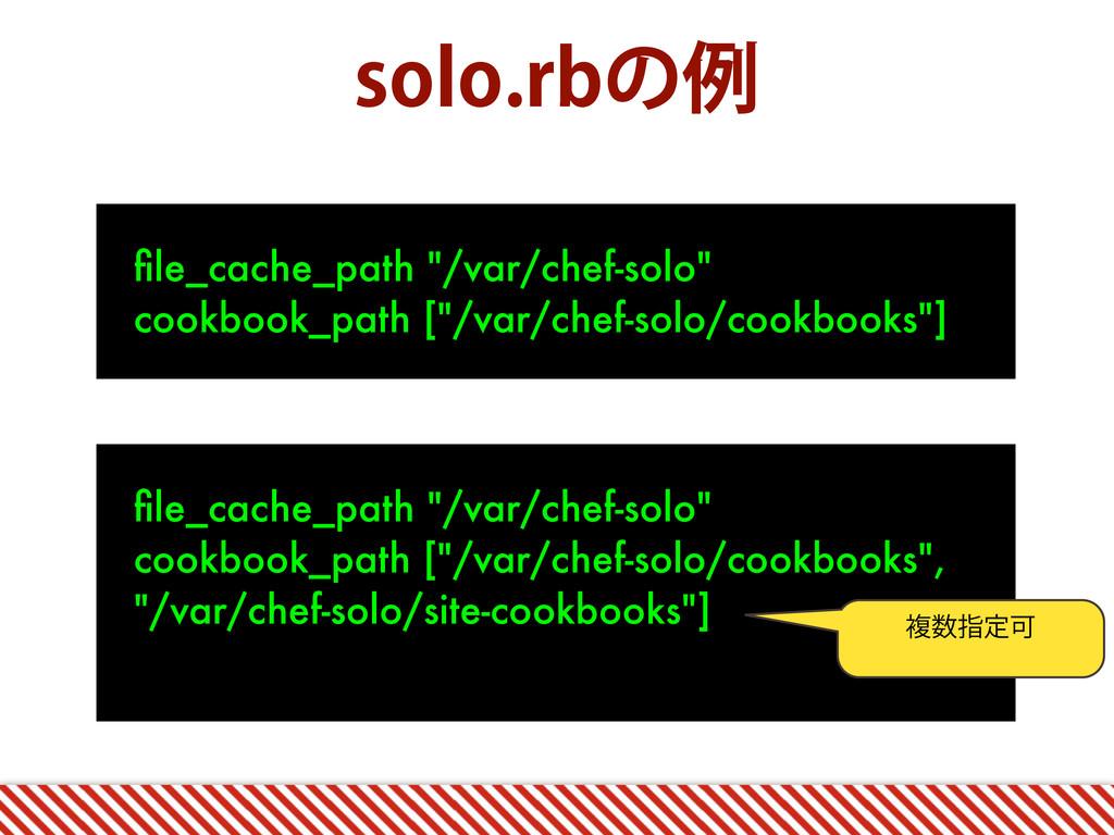 "TPMPSCͷྫ file_cache_path ""/var/chef-solo"" cookb..."