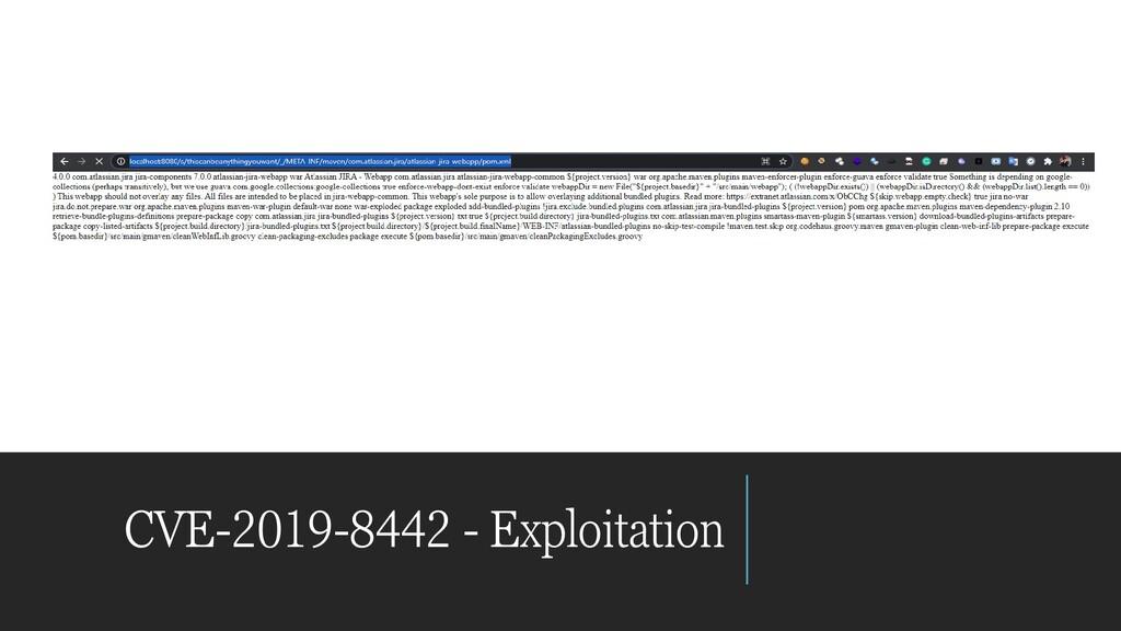 CVE-2019-8442 - Exploitation