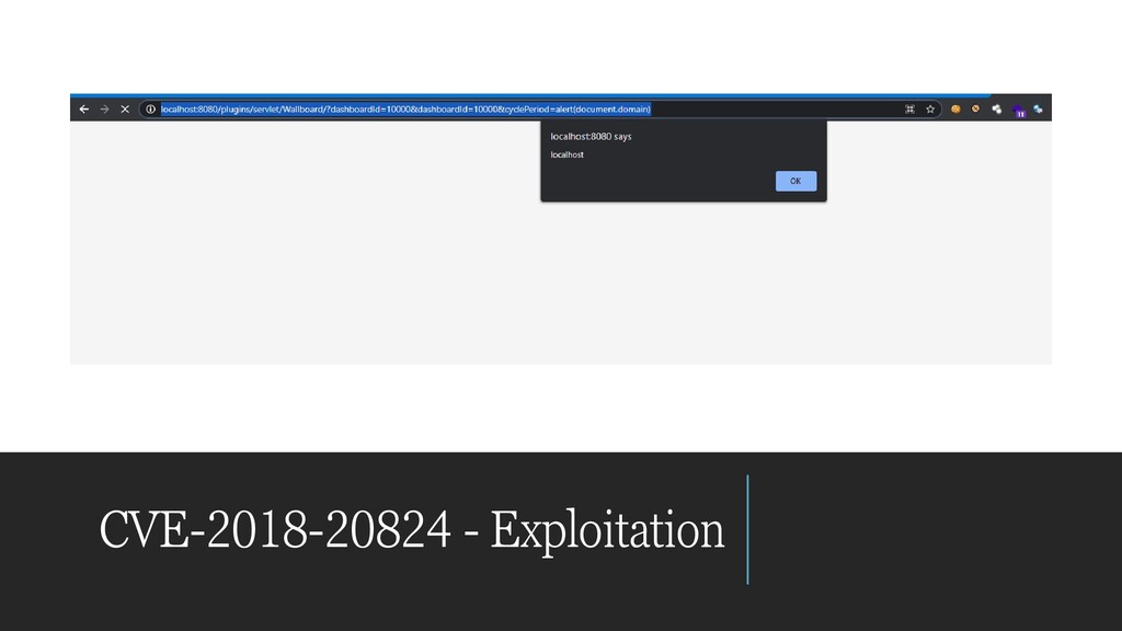 CVE-2018-20824 - Exploitation