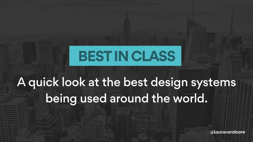 A quick look at the best design systems being u...
