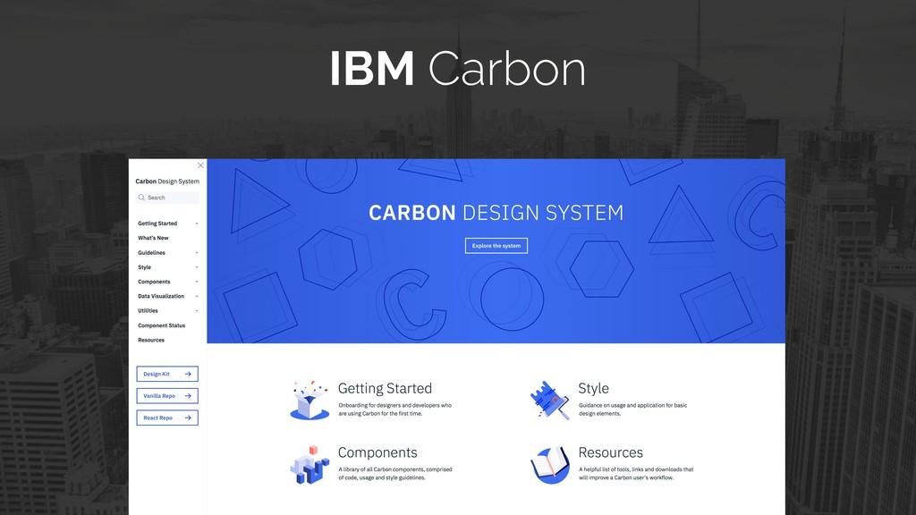 IBM Carbon