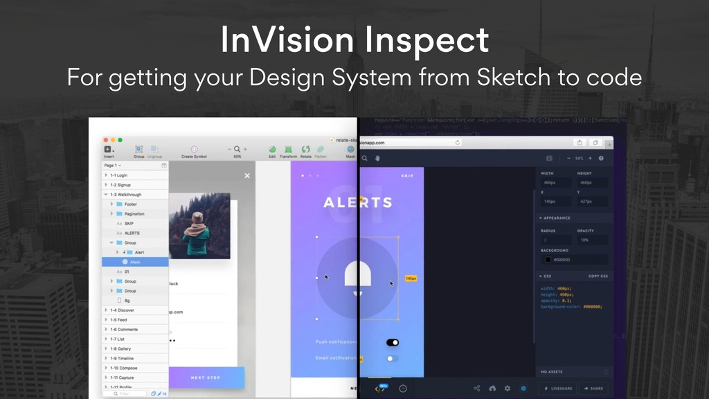 InVision Inspect  For getting your Design Syst...