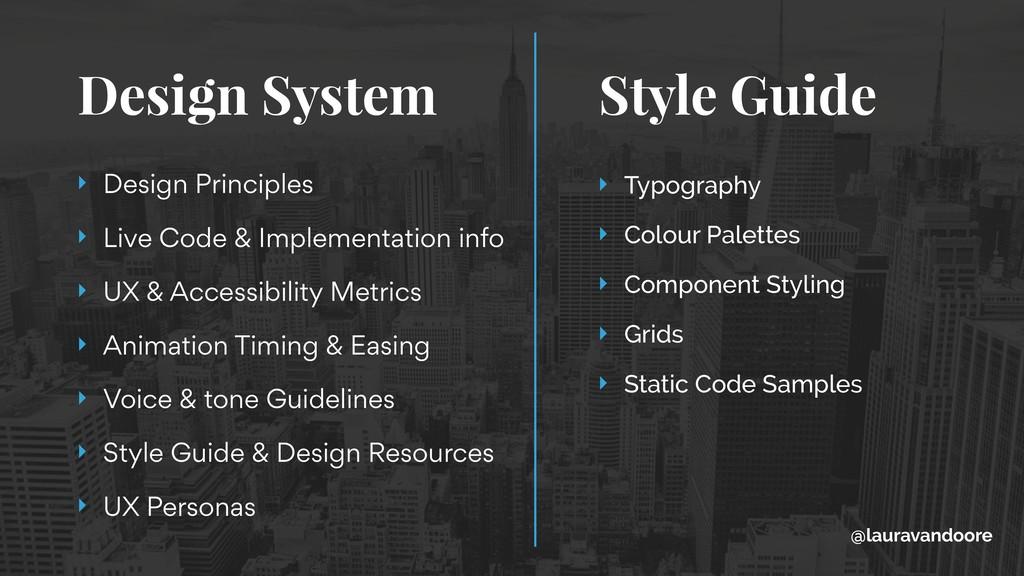 Design System Style Guide ‣ Design Principles ...