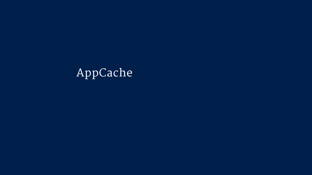 """AppCache is a douchebag"" Jake Archibald, mxs.i..."