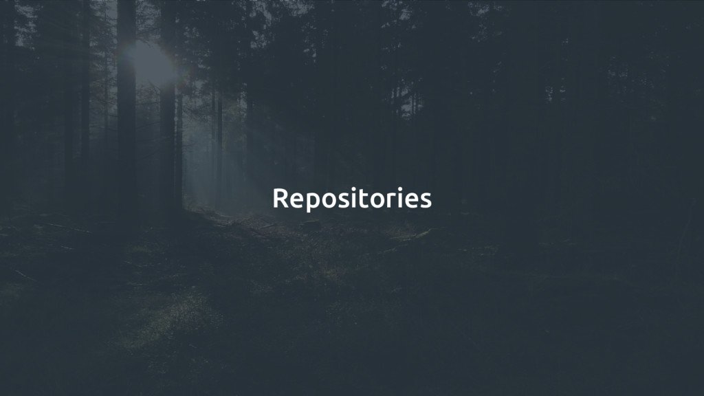 Repositories