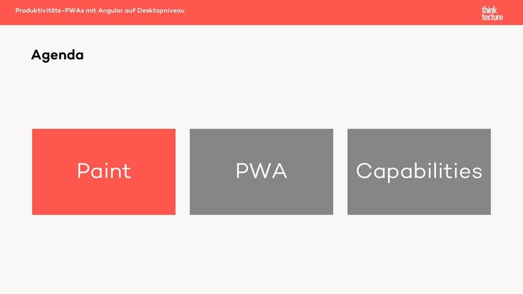 Paint PWA Capabilities Produktivitäts-PWAs mit ...