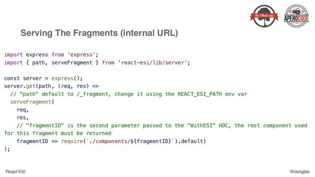 React ESI @dunglas Serving The Fragments (inter...