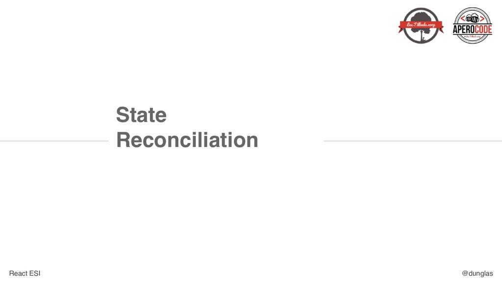 React ESI @dunglas State Reconciliation