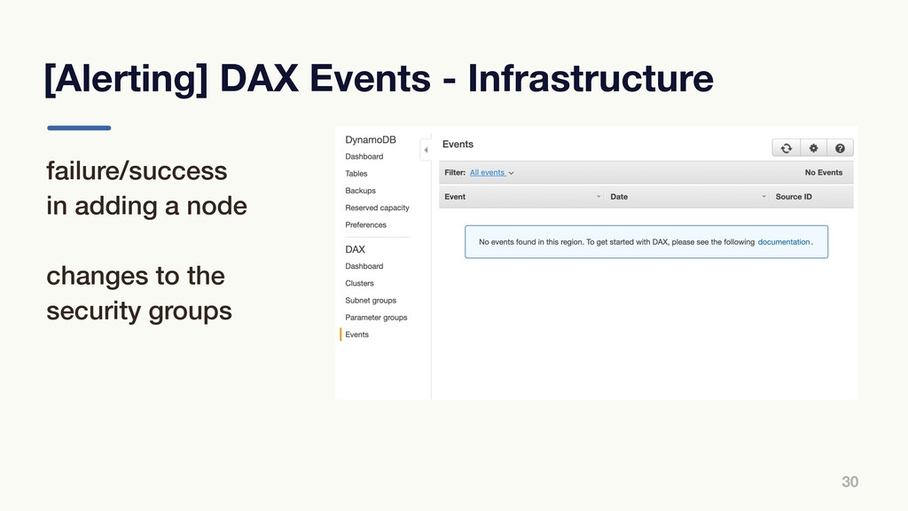 [Alerting] DAX Events - Infrastructure 30 failu...