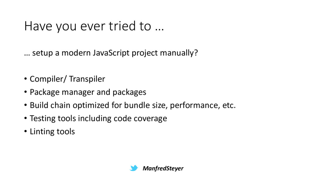 ManfredSteyer Have you ever tried to … … setup ...