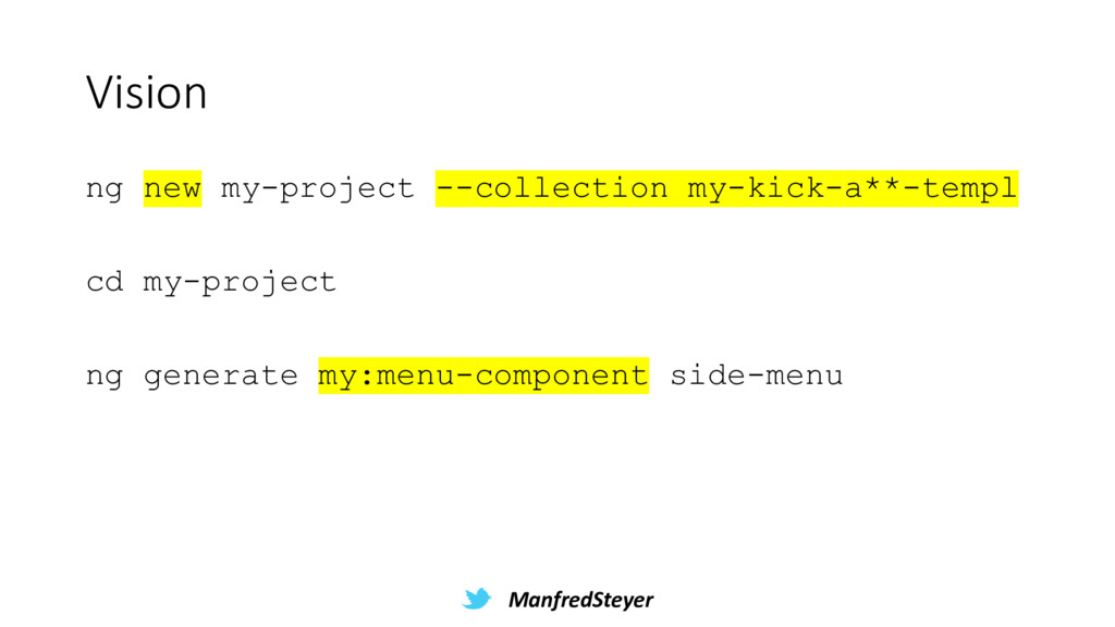 ManfredSteyer Vision ng new my-project --collec...