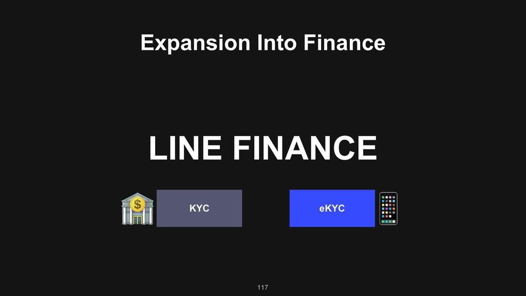 117 eKYC KYC 3 ! Expansion Into Finance LINE FI...