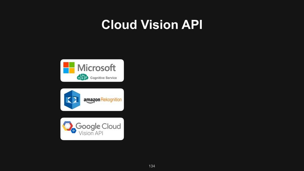 Cloud Vision API Cognitive Service 134