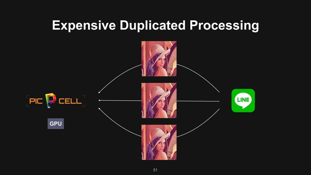 51 GPU Expensive Duplicated Processing