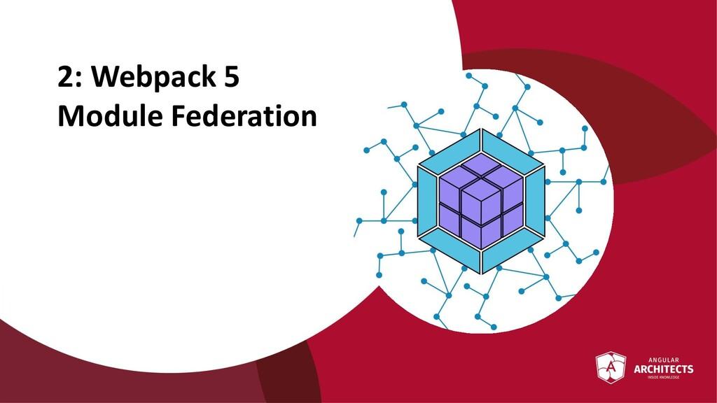 @ManfredSteyer 2: Webpack 5 Module Federation
