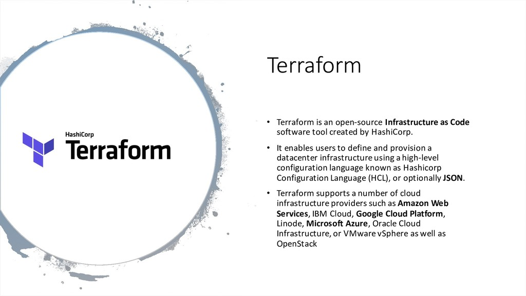 Terraform • Terraform is an open-source Infrast...