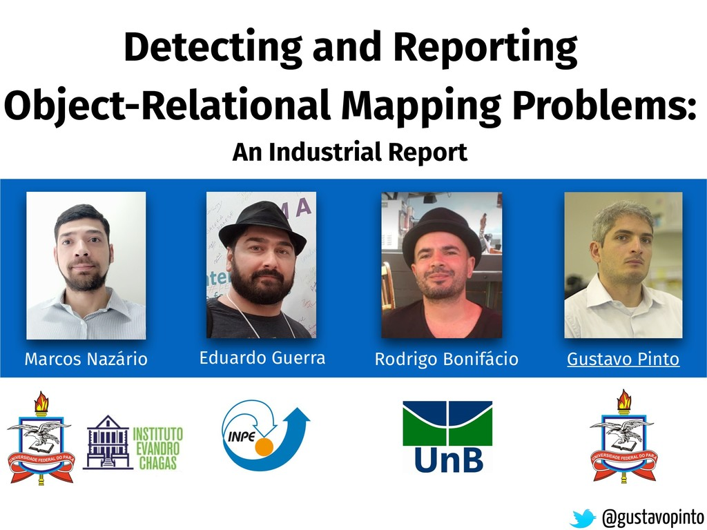 Detecting and Reporting Object-Relational Mappi...